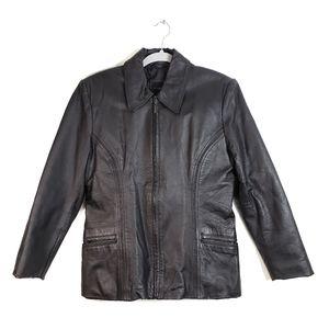 Vintage Colebrook & Co Genuine Leather Jacket - M